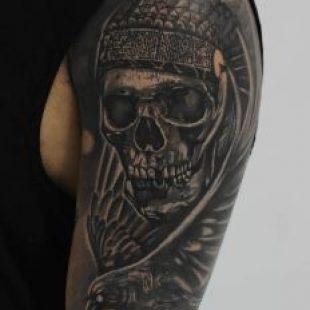 Tatuajes tradicional nativoamericano